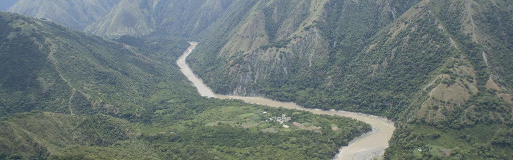 Rio Cauca in Colombia.